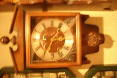 Vintage President 30 Day Striking Pendulum Wall Clock.