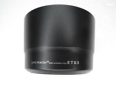 Promaster ET-63 Camera Lens Hood For Canon 55-250mm f/4-5.6 IS STM