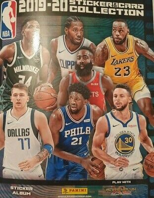 Panini Nba Basketball Sticker Collection 2019 2020 Choose Your Sticker 1 - 239