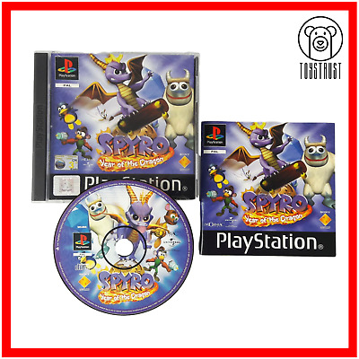 Spyro Year of the Dragon Sony Playstation 1 Classic Game PS1 PS ONE 2000 PAL