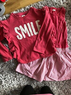 Next Smile Jumper And Dress Outfit Age 8