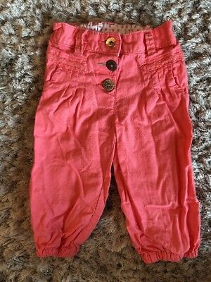 Next Pink Trousers 2-3 Years
