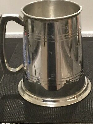 Pewter Father of the Bride Tankard 1 Pint Size X290