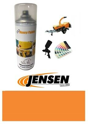 Jensen Wood Chipper Orange Paint High Endurance Enamel Paint 400ml Aerosol