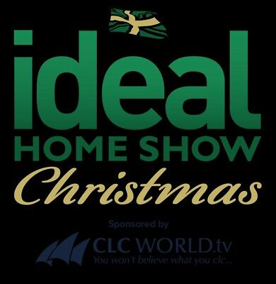 2 X IDEAL HOME SHOW TICKETS CHRISTMAS THURSDAY 21st NOV