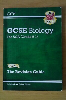GCSE Biology for AQA (Grade 9-1). The Revision Guide.