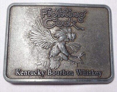 THE LAST GREAT ACT OF DEFIANCE BELT BUCKLE Owl vs Mouse Pewter Made in Kentucky