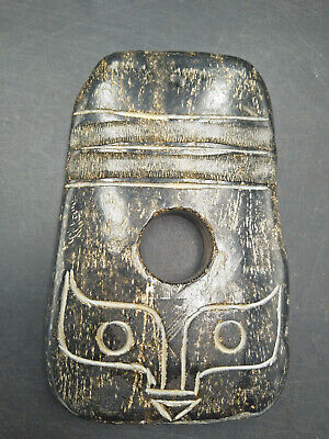 Hongshan culture ,collectibles,Chinese old jade ,pendant WM096