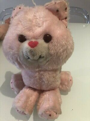 Vintage Kenner Strawberry Shortcake Custard Cat stuffed toy Rare 1984