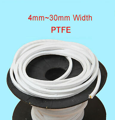 PTFE Gland Packing PTFE Sealing Strip Oil-Free And Corrosion-Resistant 4mm~30mm