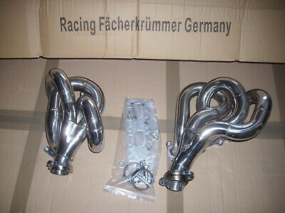 Header Fits W 124  Mercedes W/S/C/A 124  300 E-24 M 104 Engine Stainlees Steel