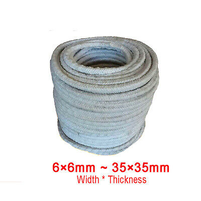 Ceramic Fiber Gland Packing Sealing Strip Temperature Resistant For Furnace Door
