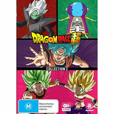 Dragon Ball Super Collection 2 DVD NEW (Region 4 Australia)
