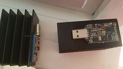 ASIC Miner Bitcoin USB Block Erupter SHA256 with added refrigiratorNOoverheating