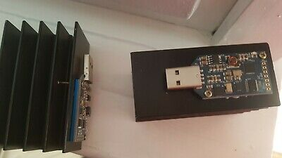 ASIC Miner Bitcoin USB Block Erupter SHA256 with added refrigirator
