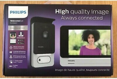 Visiophone Philips WelcomeEye Connect DES-9900-VDP. Original Philips 100% Neuf
