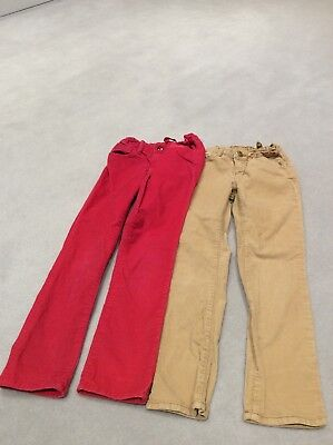 Girl's Corduroy Trousers, GAP, Age 6, 2 Pairs