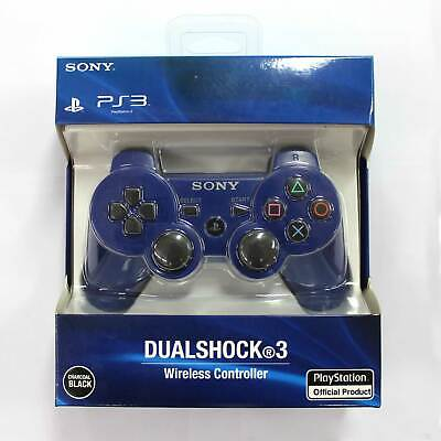 Bluetooth Dualshock3 Wireless Remote Controller Gamepad Joystick for PS3 Blue