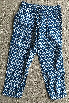 Next Girls Printed Pants Trousers Size 5 Years