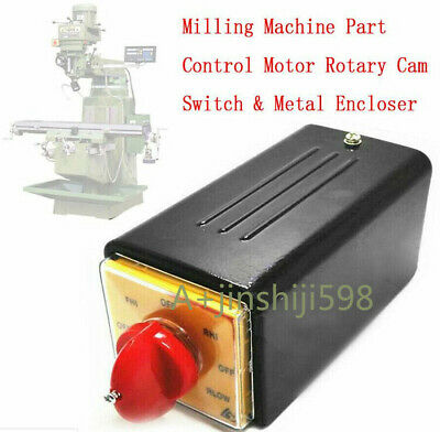 BRIDGEPORT TYPE IMPORT MILLING MACHINE 8 POSITION 2 SPEED SWITCH NEW /> SWITCH S