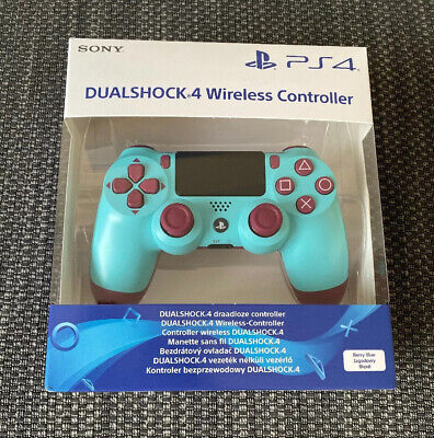 Genuine Sony PlayStation 4 DualShock 4 Controller - Berry Blue - Sealed