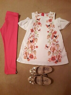 Ted Baker Girls Outfit Age 4-5