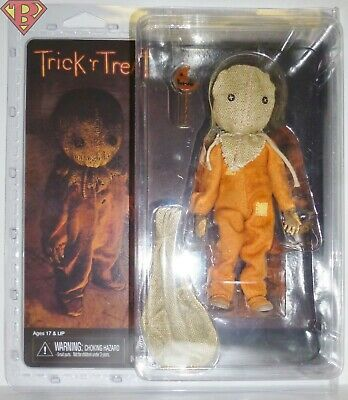 "SAM Trick 'r Treat Movie 8"" inch Scale 5"" inch Clothed Action Figure Neca 2019"
