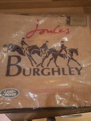 Joules Womens Official Burghley Horse Trials tote Bag  NEW Equestrian