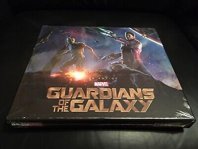 MARVELS The Art Of Guardians Of The Galaxy NEW & FACTORY SEALED!