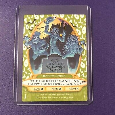 Disney Sorcerers of the Magic Kingdom #03/P Haunted Mansion Party Card  LAST ONE