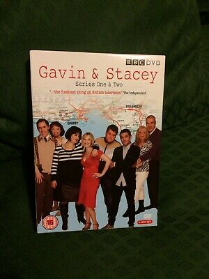 Gavin and Stacey - Series 1 and 2 Box Set [DVD][Region 2]