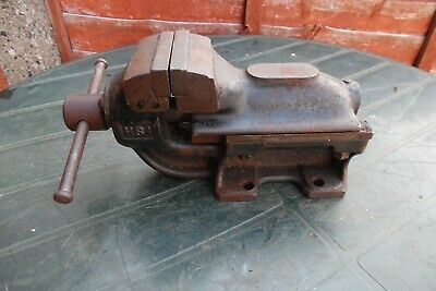 Vintage Vice With Anvil Make Unknown See Photo's For Markings # 2