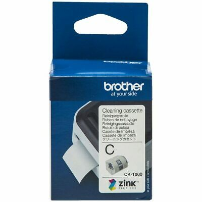 Brother CK-1000 Cleaning Cassette Roll 50mm X 2m for Clean VC-500W Label Printer