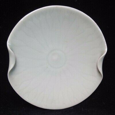 Very Fine Old Chinese Thin Body Porcelain Plate Ink Dish with Mark