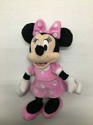 """Disney Minnie Mouse 10 """" Plush Beanbag Doll - Stuffed Toy Authentic Licensed"""