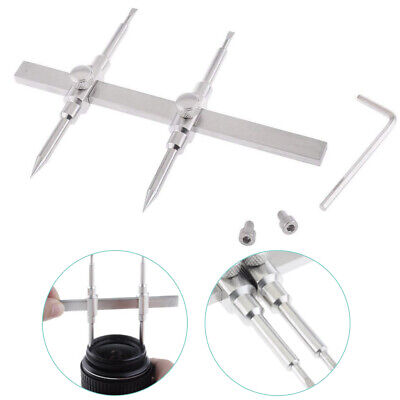 For DSLR Adapter Lens Spanner Dual Tip Tool Stainless Steel Camera Professional