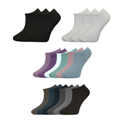 Kids Boys Girls Children Trainer Socks Cotton Rich School Sports Ankle Liner