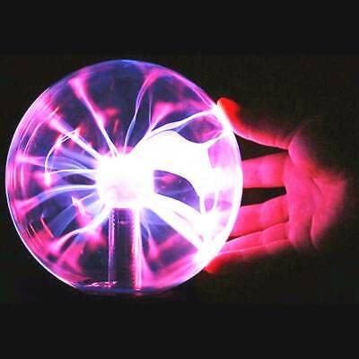 Plasma Ball USB Magic Crystal Globe Desktop Light Lightning Nebula Sphere Lamp