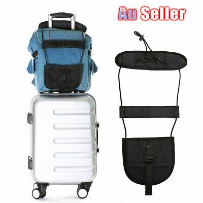 Adjustable Tie Bungee Luggage Strap Carry Travel Bag On Tape Suitcase Belt