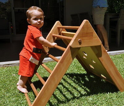 Baby gym, Pikler triangle, Montessori climbing frame handcrafted J2