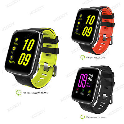 XGODY Sport Smart Watch Waterproof Fitness Tracker Heart Rate for Android iPhone