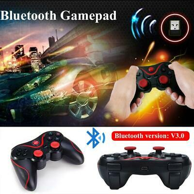 T3 S3 Wireless Bluetooth 3.0 Gamepad Game Controller For PC Android IOS PC UK