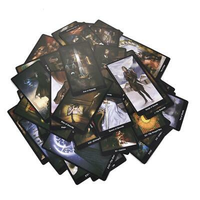 78X Tarot Cards Deck Vintage Party Family Table Game Fantasy Card he Steampunk