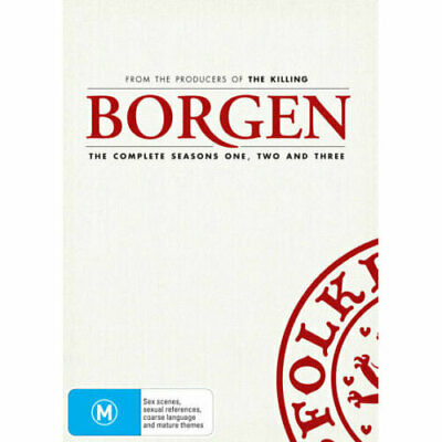 Borgen Series 1-3 DVD NEW (Region 4 Australia)