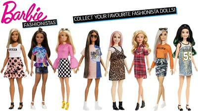 Barbie Fashionistas Collectable Dolls - Choose Your Favourites!