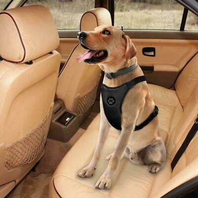 Breathable Air Mesh Dog Strap Car Harness For Pet Dogs Travel Clip Seat bel I0K2
