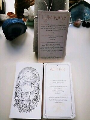 Oracle Luminary deck path cards not tarot Indie  New