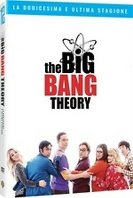 The Big Bang Theory - Stagione 12 (3 DVD) - ITALIANO ORIGINALE SIGILLATO -