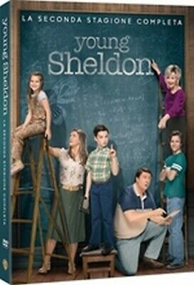 Young Sheldon - Stagione 2 (2 DVD) - ITALIANO ORIGINALE SIGILLATO -