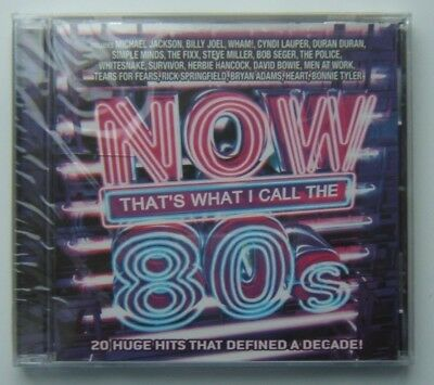 Now That's What I Call Music USA - The 80's and 80's Vol 2 - both NEW, SEALED